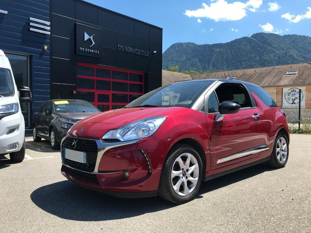 "DS3  HDI 100 CH ""SO CHIC"""